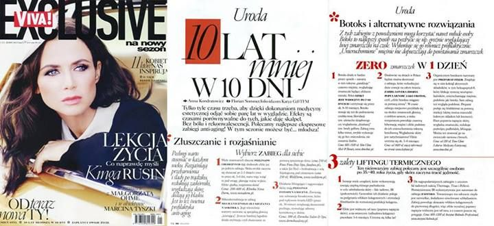 Viva Exclusive - 10 lat mniej z Time Clinic