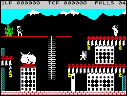 Hours of my childhood spent playing this Bruce Lee game on the Spectrum 48k!