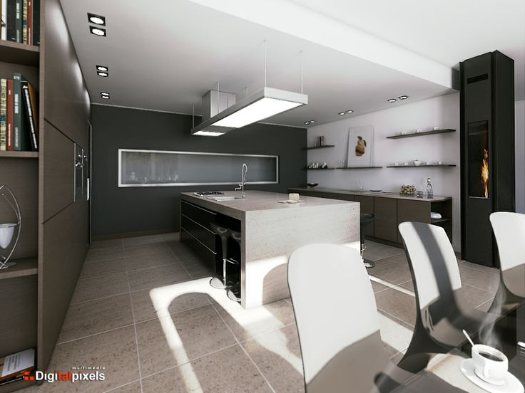 Ambiente interior 3DS MAX/MENTAL RAY