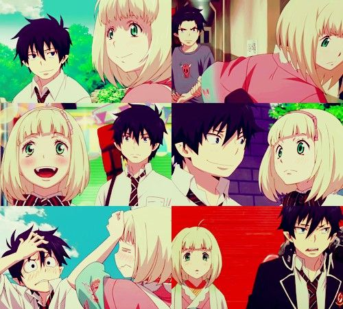 blue exorcist rin and shiemi relationship poems