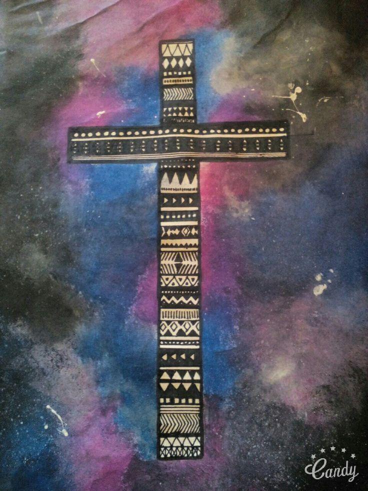 #cross #art #space