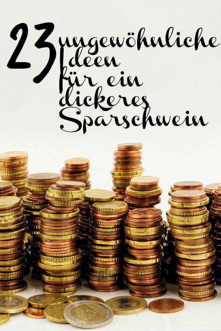 Du möchtest mehr Geld zur Seite legen? 23 Spartipps findest Du hier!