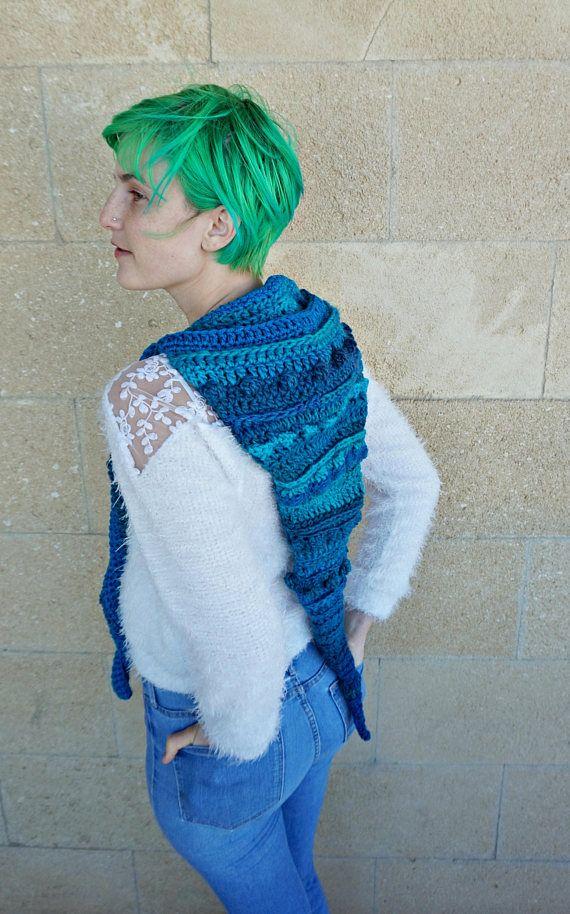 Crochet Unisex Long Elf Hood