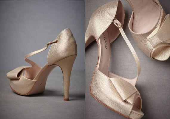 Különleges esküvői cipők, ha nem egyszerű fehéret akarsz