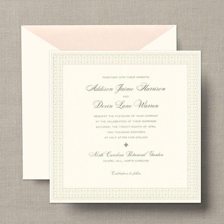 oltre 25 fantastiche idee su square wedding invitations su, Wedding invitations