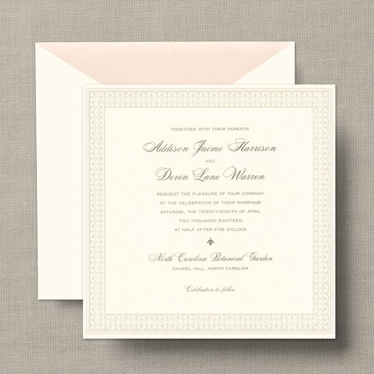 25+ best ideas about square wedding invitations on pinterest, Wedding invitations