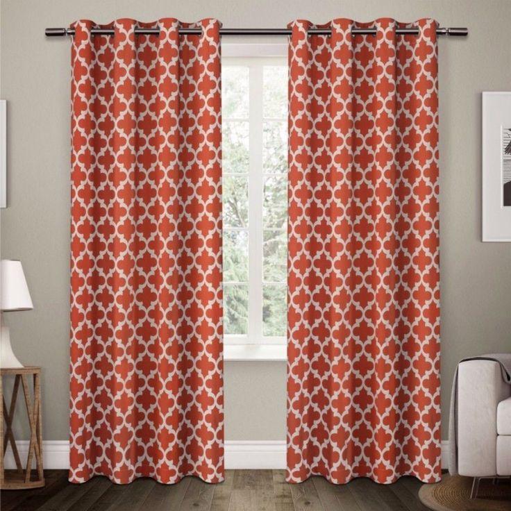 Neptune Cotton Window Curtain Panel Pair