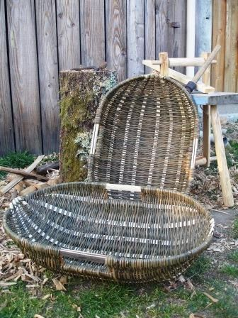 Split rib baskets