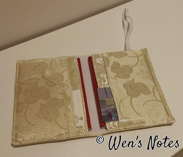 DIY Passport Holder | Wen's Notes