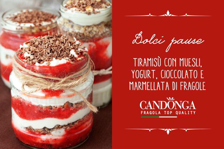 Concedersi una buona e genuina pausa fa sempre bene! #Candonga #fragole #topquality #cibosano #mangiosano #ricette
