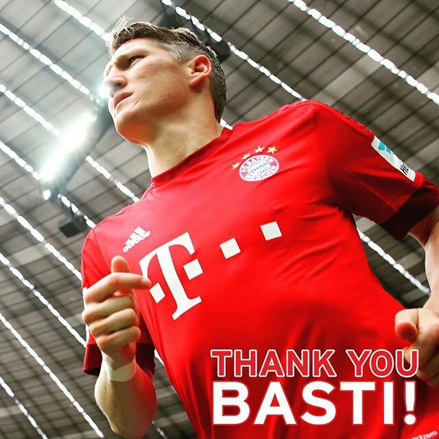 Thanks Basti. Success for your next carreer at Manchester United.