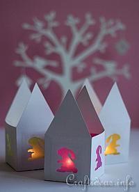 Papier Lapin thé Light House Pâques