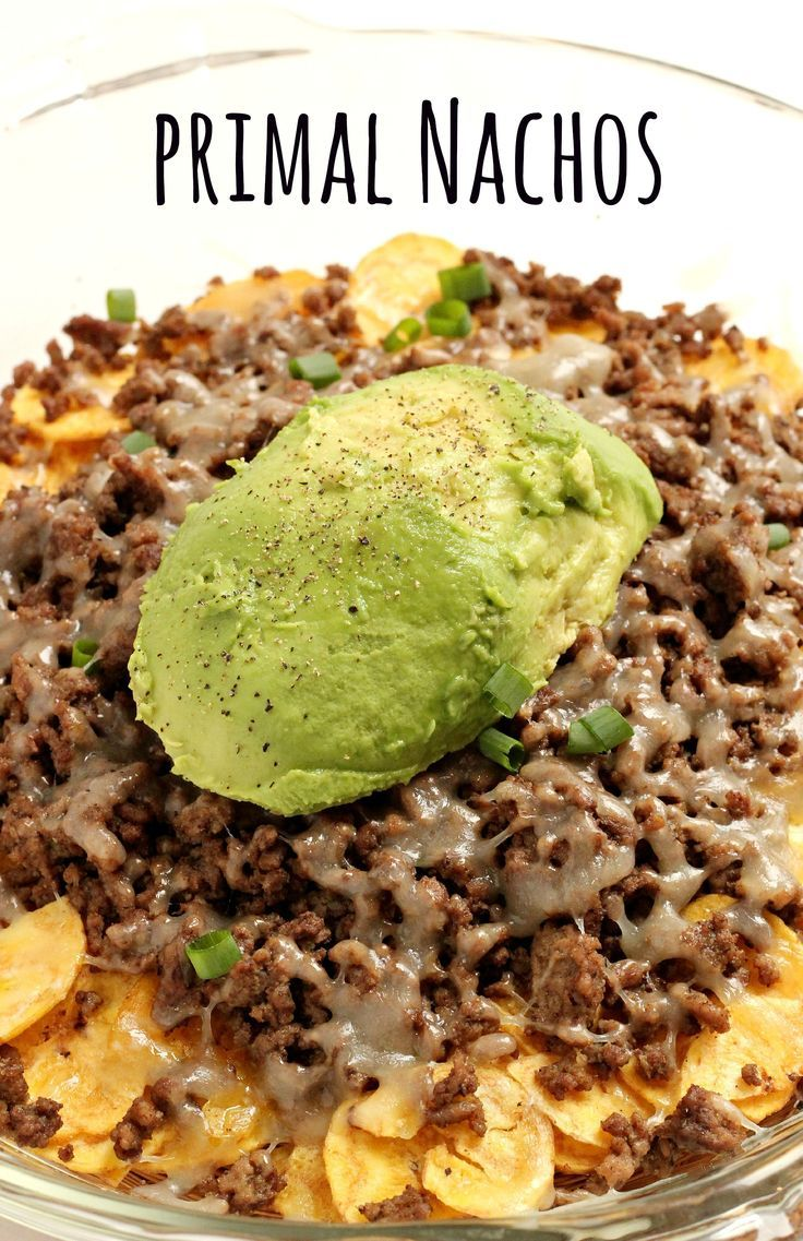 Can you believe you can eat healthier nachos, made with REAL ingredients?!