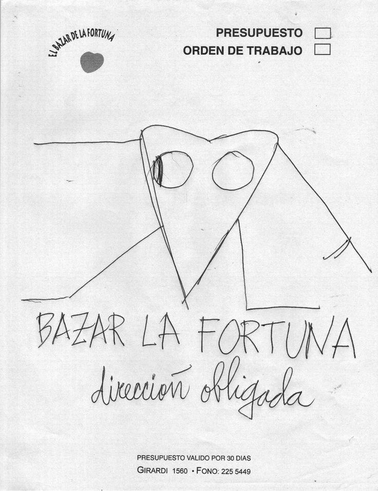 Regalo del gran Nicanor Parra cuando visitó el Bazar de la Fortuna