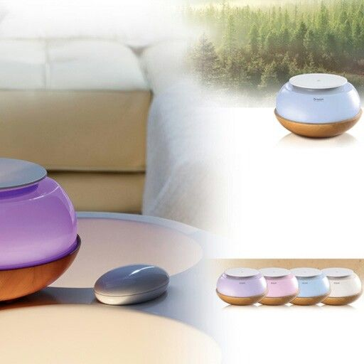 Aroma diffusers that uses no candles, includes a timer, light therapy, music and diffusion of essential oils. Order now from www.thespawarehouse.co.za