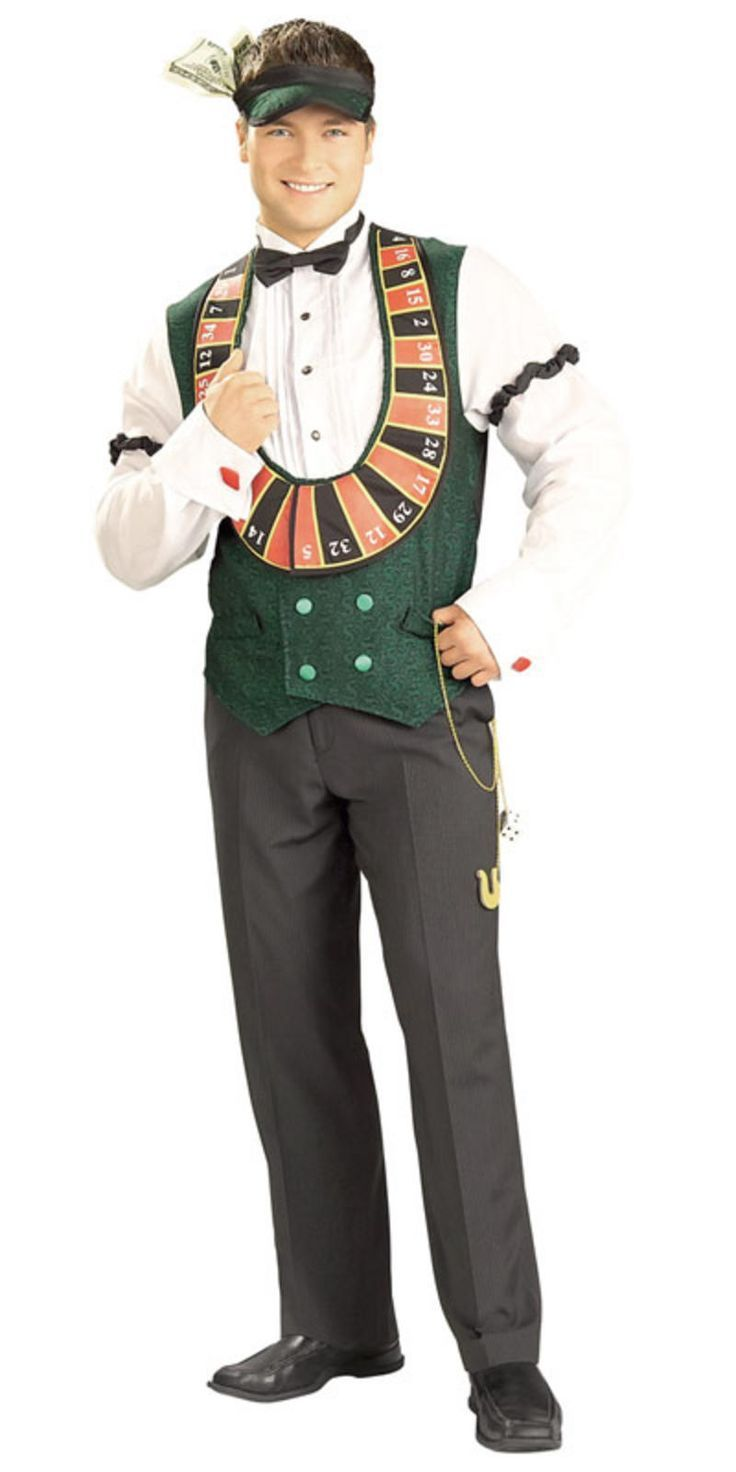 Casino party costume casino money bookers