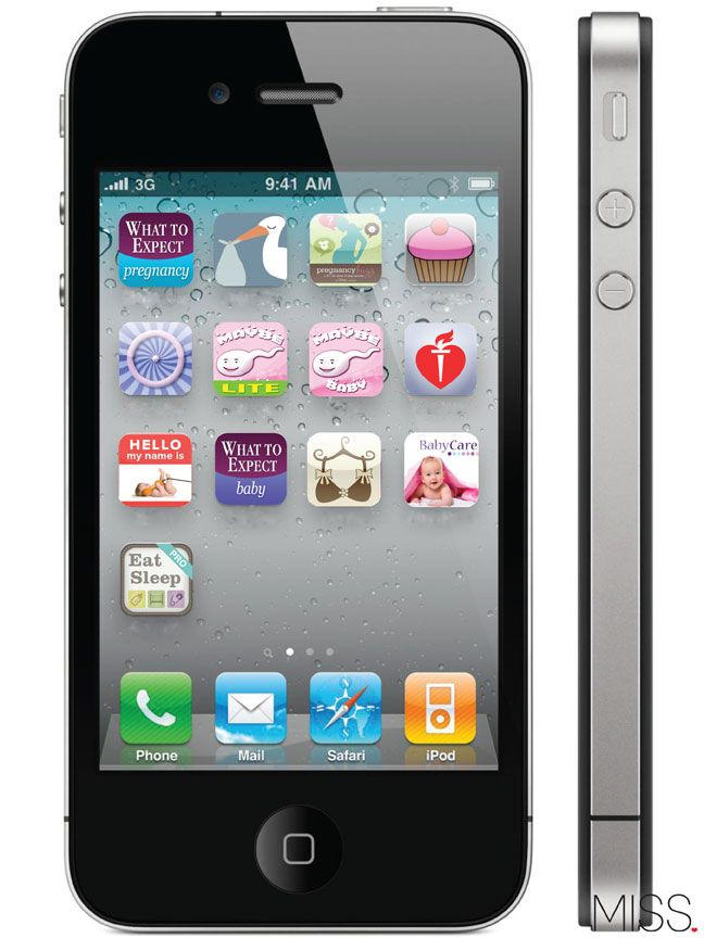 best iPhone/iPad ideas for pregnant and new Moms