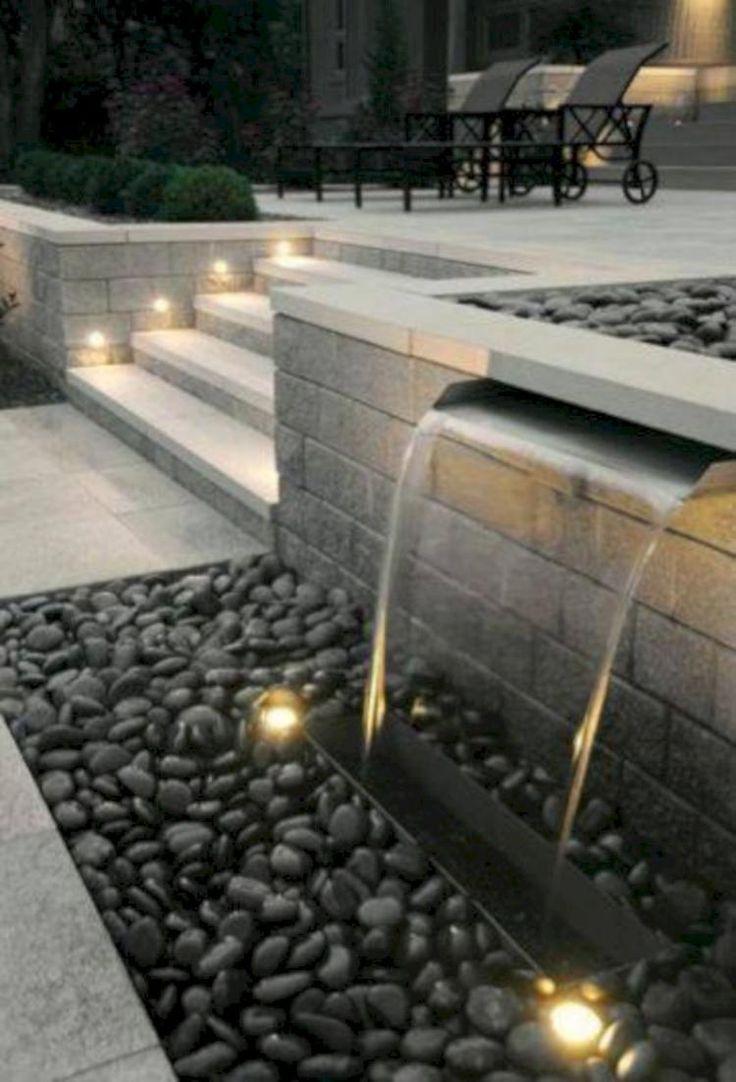 65+ GORGEOUS IDEAS FOR GARDEN WATER FOUNTAINS