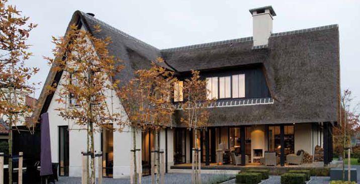 villa met terras
