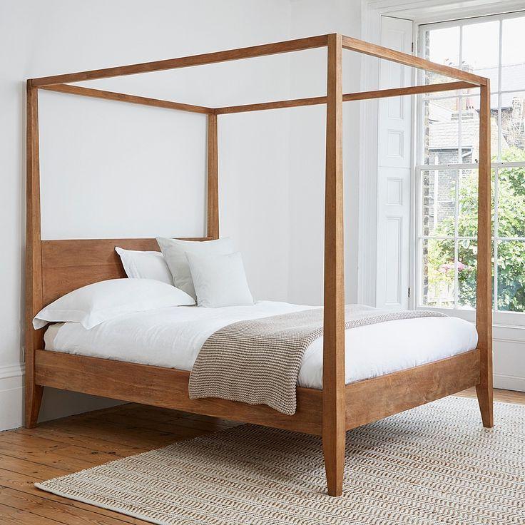 Bedroom diy four poster bed frame diy four poster bed
