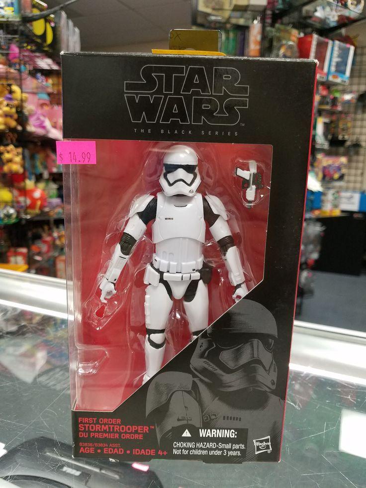 HASBRO STAR WARS, Black Series First Order Stormtrooper