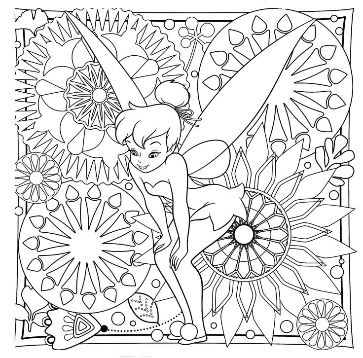 91 best TINKERBELL COLORING PAGES images on Pinterest | Tinkerbell ...