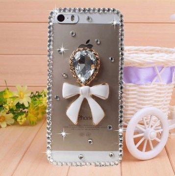 Cover for iPhone 5, 5S with Crystal 3D Diamond