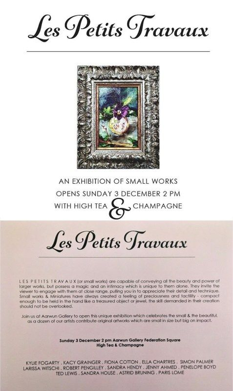 You Are Invited! | Les Petits Travaux | Group Exhibition | Aarwun Gallery