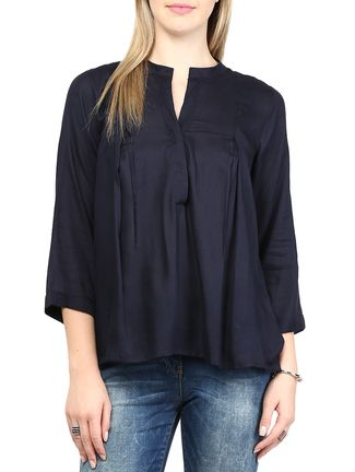 Buy Rare blue rayon top Online, , LimeRoad