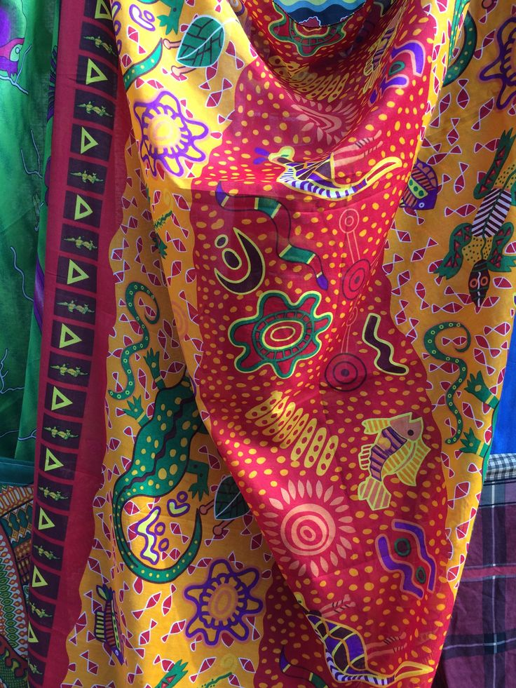 Lovely colours at the Tofo Market