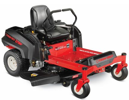 Buy this Troy-Bilt 42 XP Mustang 22HP 42-inch Zero Turn Mower with deep discounted price online today.