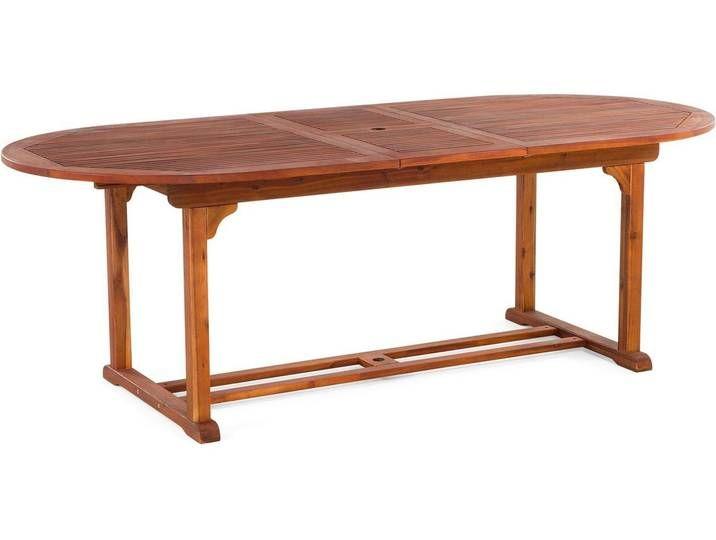Gartentisch Holz 180 220 X 100 Cm Ausziehbar Toscana 2020