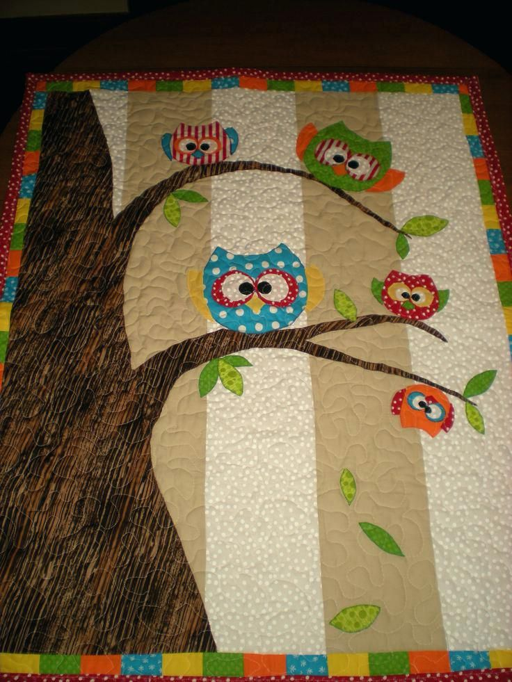 Owl Baby Quilt Kit Pinterest Owl Baby Quilts Baby Boy Owl Quilt Patterns Owl Baby Quilt