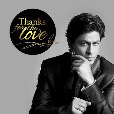 Shah Rukh Khan  @iamsrk    And will do a video tomorrow to thank u all personally….till then…. pic.twitter.com/Q2bwvtUWWr 26 Jun 2015