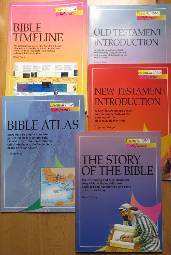 Essential Bible Reference Bible Timeline, The Story of the Bible 5 books