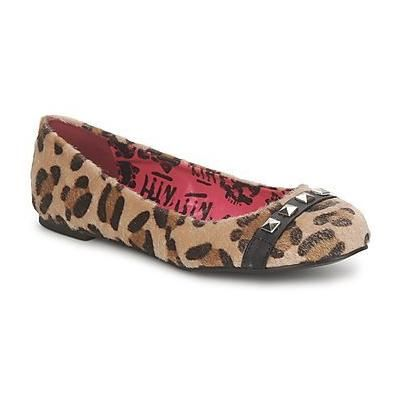 $27, Ballerina Leopard Print Shoes by Abbey Dawn. Sold by Rubbersole. Click for more info: http://lookastic.com/women/shop_items/80529/redirect