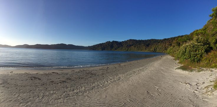 New Years Eve as seen from the Port William campsite on Stewart Island's Rakiura Track, what a spot!