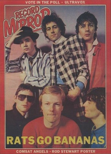 Front page of the Record Mirror, around 1980/81 I think...