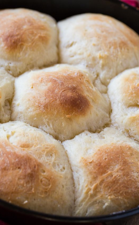 These Potato Rolls are made from leftover mashed potatoes and have a ...