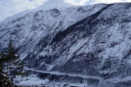 Gaustatoppen in Rjukan