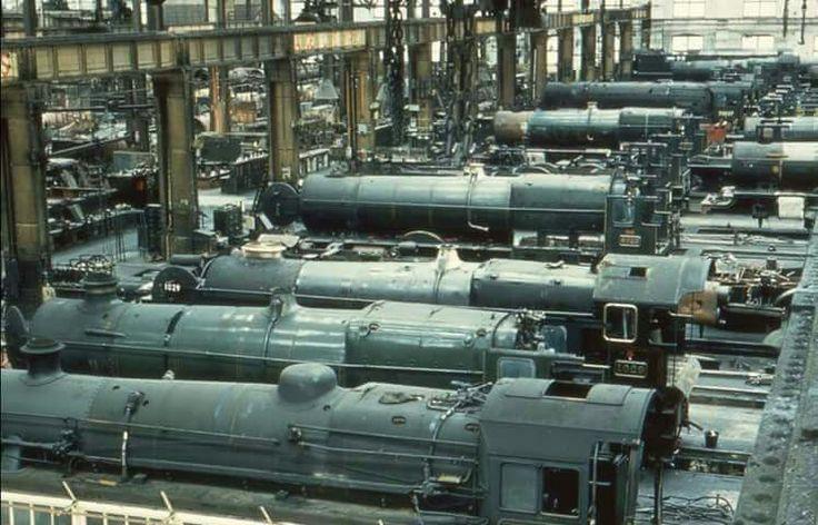 Railway works Swindon