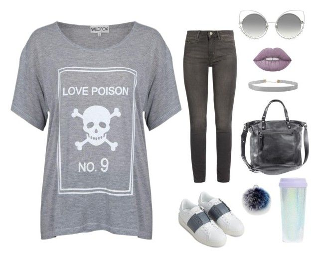 """Love Poison No 9"" by theclosetofd on Polyvore featuring Valentino, M.i.h Jeans, Rebecca Minkoff, Humble Chic, Marc Jacobs and Lime Crime"