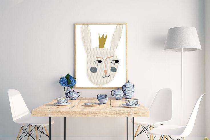"""Image of Póster """"Buenos días princesa"""""""