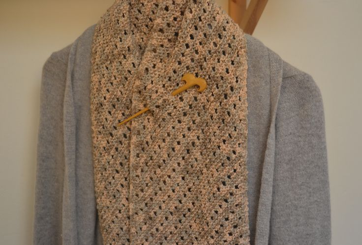 Blogged about here: http://makedoandmendnovice.blogspot.co.uk/2013/10/noro-bias-lace-scarf-in-less-than-posh.html