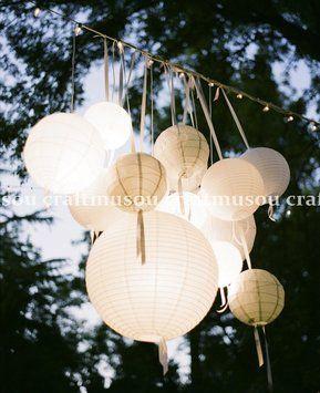 80 Lantern With Led Set