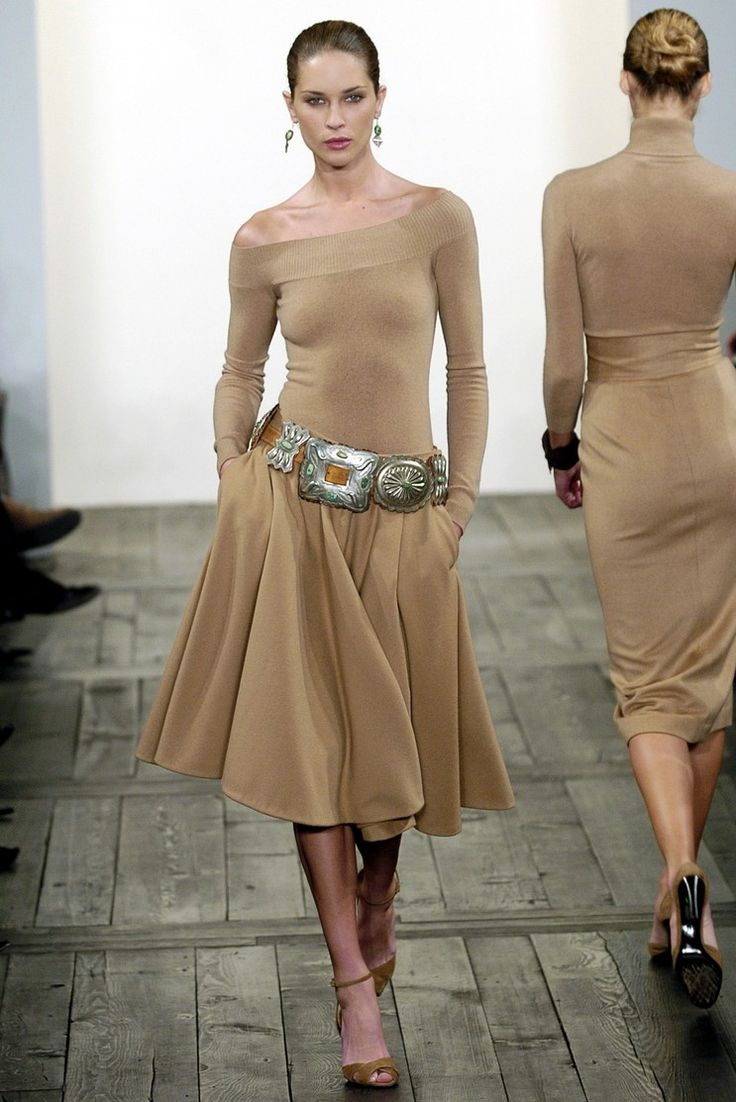 Love this!!  Maybe not *quite* so tight on top, but... lol  Ralph Lauren Fall/Winter 2004 Ready-to-Wear New York