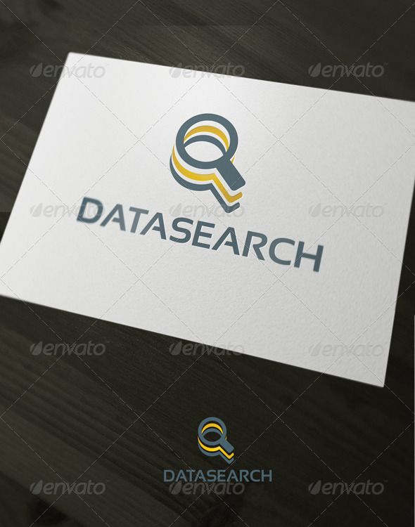 DataSearch logo by stephanmalt The Pack included:EPS, jpgCMYK 100 vector easy to edit color / text Free font used: http://www.dafont.com/sansation. font helveti