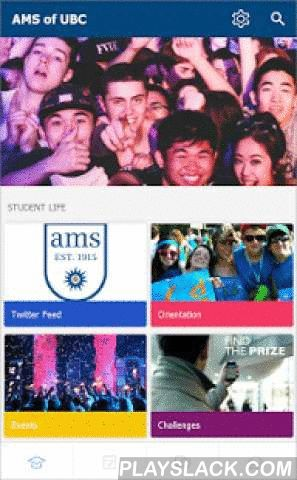 Alma Mater Society Of UBC  Android App - playslack.com ,  Welcome to the AMS's official app for all students at UBC! Use it to access news, events, calendars, clubs, social media, maps and more. Stay organized with your classes and assignments through the timetable. Connect with the campus community through the campus feed.Key Features + Events - Find what events are happening on campus. + Campus Services - Learn about what services the AMS and UBC have to offer+ Groups & Clubs - Find…