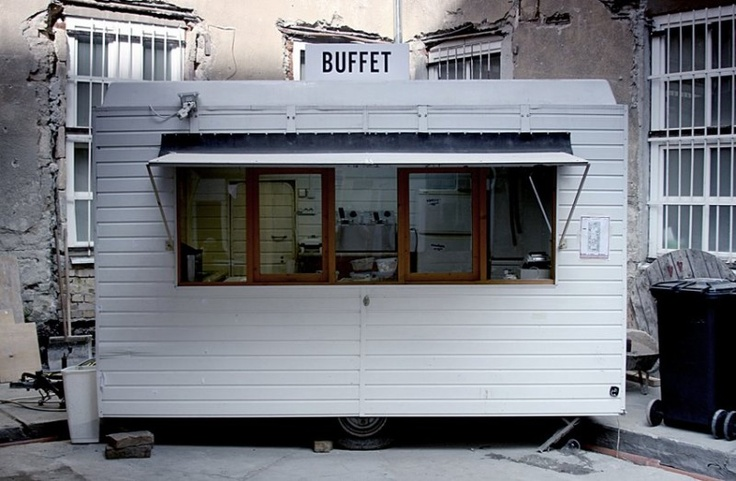 Buffet car  From a Ruin Pub in Budapest