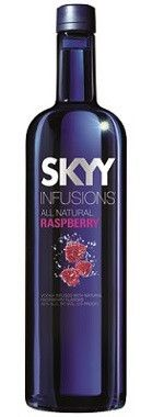 SKYY Infusions Raspberry Vodka (750ml, 37.5%)